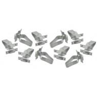 Bumper moulding clips