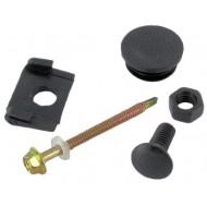 Bumper end cap mouting kit