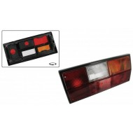 Tail light lens European amber/red/clear right