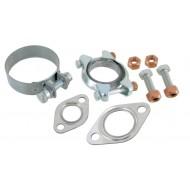 Exhaust manifold mounting kit