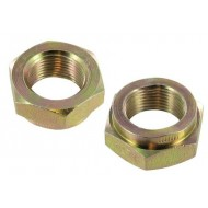 Wheel bearing security nuts pair