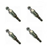 Glow plugs 4 pcs