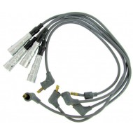 Half silicone ignition wire kit grey