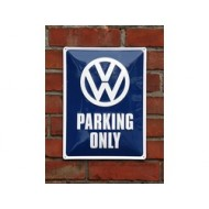 VW Parking Only, Metal plate 300x400mm